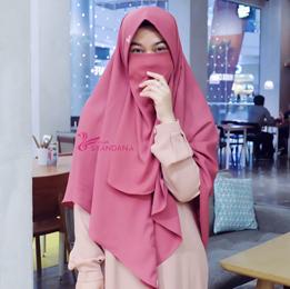 Review Jilbab Bergo Syari Syandana Hijab